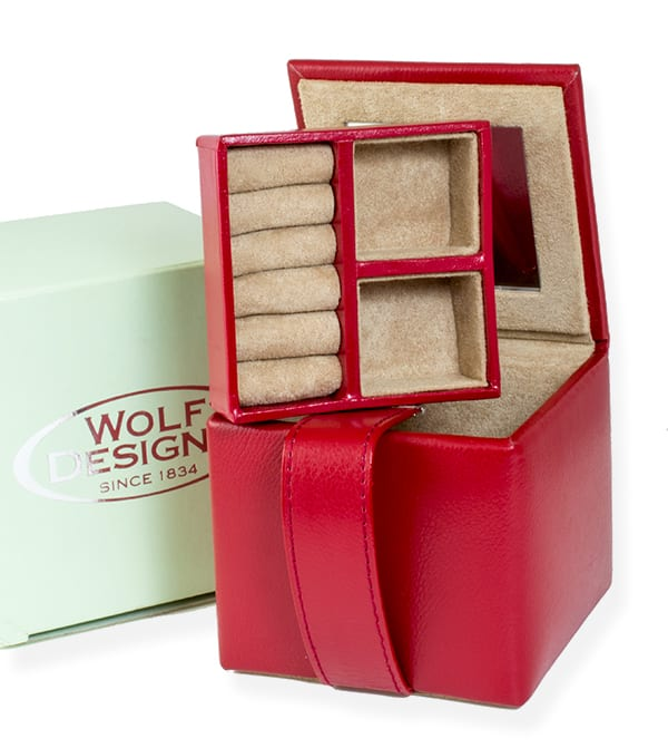 Jewelry Box Red